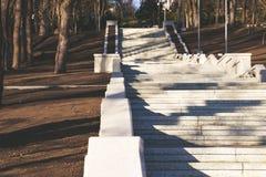 As escadas bonitas no vale dos moinhos imagem de stock royalty free