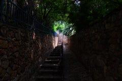 As escadas de Westcliff em Joanesburgo Imagem de Stock