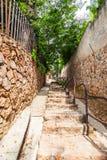 As escadas de Westcliff em Joanesburgo Fotos de Stock Royalty Free