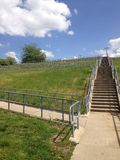 As escadas em mudança da vida Fotos de Stock
