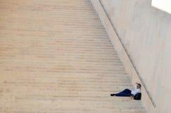 As escadas na casa do parlamento Imagens de Stock