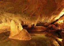 As esculturas da caverna Fotos de Stock Royalty Free