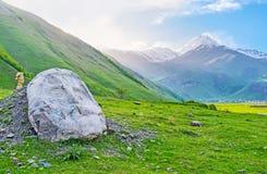 As esculturas de grande Georgians imagem de stock royalty free