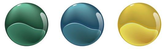 As esferas Imagem de Stock