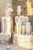 As estátuas brancas Fotografia de Stock Royalty Free