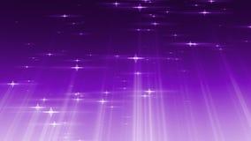 As estrelas das part?culas com raios iluminam o fundo dado la?os vídeos de arquivo