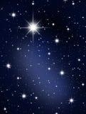 As estrelas e galagy. Fotografia de Stock Royalty Free