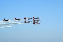 As estrelas turcas da equipe da demonstração executam Imagem de Stock Royalty Free