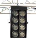 As estruturas da iluminação de fase iluminam o equipamento isolado Fotos de Stock Royalty Free