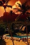 As férias estão nos tropics Fotos de Stock Royalty Free
