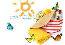 As férias estão vindo Imagem de Stock