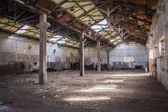 As facilidades antigas abandonaram minas de Alquife Fotografia de Stock Royalty Free