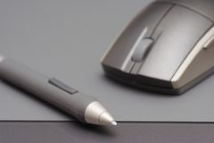 As ferramentas do desenhista Fotografia de Stock Royalty Free
