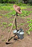 As ferramentas do jardineiro Imagens de Stock