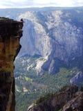 As fissura - Yosemite NP Fotos de Stock Royalty Free