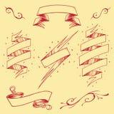 As fitas ajustaram 03 ilustração royalty free