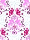 As flores e os testes padrões do ilustração stock