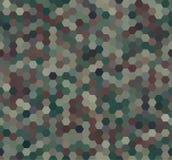 As forças armadas abstratas camuflam o fundo Fotos de Stock Royalty Free