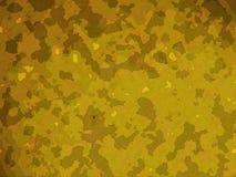As forças armadas amarelas do deserto camuflam o efeito ilustração royalty free