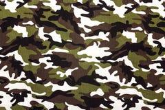 As forças armadas camuflam o fundo do teste padrão de pano imagem de stock