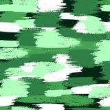 As forças armadas do vetor camuflam o teste padrão Fotografia de Stock Royalty Free
