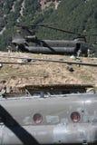 As forças armadas inundam o apoio para golpear o vale, Paquistão Fotografia de Stock Royalty Free