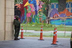 As forças armadas não reforçarão a segurança de Rio de janeiro Carnival foto de stock royalty free