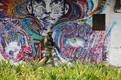 As forças armadas não reforçarão a segurança de Rio de janeiro Carnival fotos de stock royalty free
