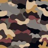 As forças armadas sem emenda camuflam a textura Foto de Stock