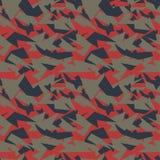 As forças armadas sem emenda camuflam a textura Imagens de Stock