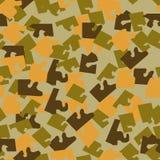As forças armadas sem emenda camuflam a textura Foto de Stock Royalty Free