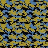 As forças armadas sem emenda camuflam a textura fundo militar textura militar para a matéria têxtil Fotos de Stock Royalty Free