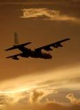 As forças armadas transportam o avião Imagem de Stock