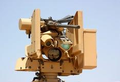 As forças armadas machine-gun Foto de Stock
