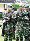 As forças armadas patrulham Imagem de Stock Royalty Free