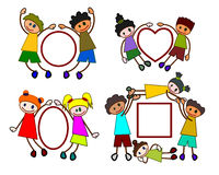 As formas do Kiddie ajustaram 1 Foto de Stock