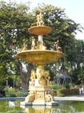 As fotos do parque do jardim em Banguecoque, Tailândia lá são muitos lugares interessantes tailandeses e turistas estrangeiros Ve fotos de stock royalty free