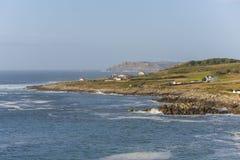 As Garzas Malpica, La Coruna - Spain. Coast of Malpica La Coruna, Spain Royalty Free Stock Photography