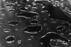 As gotas da água espalharam Fotos de Stock Royalty Free