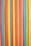 Teste padrão vertical de borracha vibrante Imagens de Stock Royalty Free