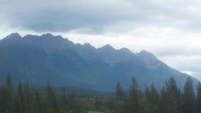 As grandes Montanhas Rochosas Fotos de Stock Royalty Free