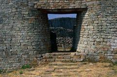 As grandes ruínas de Zimbabwe Fotos de Stock
