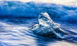 Tiny Icebergs Royalty Free Stock Images