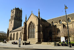 As igrejas da cidade, Dundee, Escócia Fotografia de Stock Royalty Free