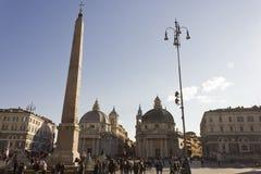 As igrejas de Roma gêmeas Imagens de Stock Royalty Free