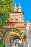 As igrejas de Sergiyev Posad imagem de stock royalty free