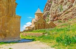 As igrejas do monastério de Noravank foto de stock royalty free