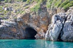 As ilhas de Petrovac Imagem de Stock