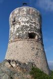 As ilhas de Sanguinaires perto de Ajácio em Córsega - França fotografia de stock royalty free