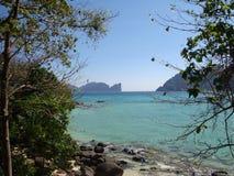 As ilhas no mar de Andaman Fotos de Stock